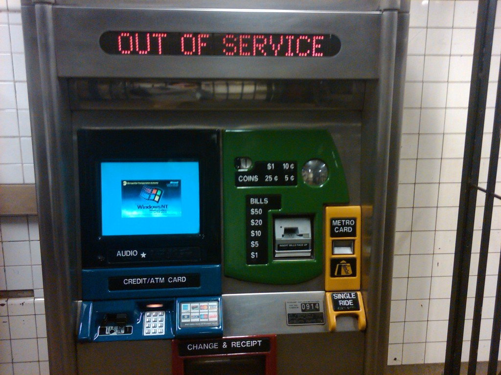 MTA ticket machines us winnt